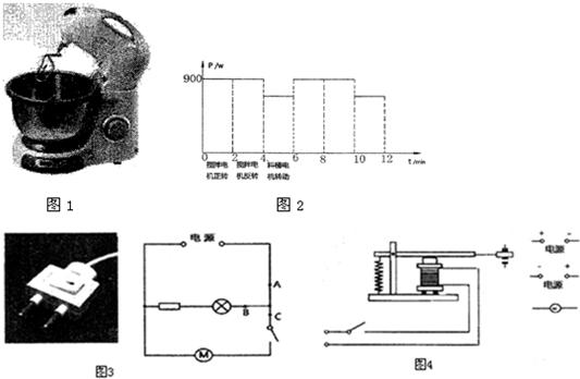 主要结构为:一个带搅拌嚣的电动机和一个带料桶的电动机,在和面过程中