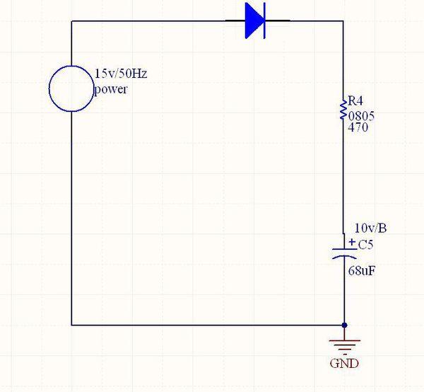 电阻和电容充放电时间常数rc,都是在基于用直流测的时间常数,如果接的