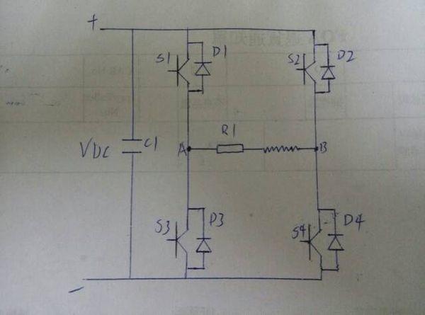 三相电的a,b,c,每个周期的电流流向?怎么流出?又从那流入?