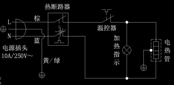 储水式电热水器不加热我有一台5升比德斯电热水器,不加热,没亮灯,请问