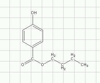 对羟基苯甲酸丁脂 的结构简式怎么写?怎样根据名称写出来.