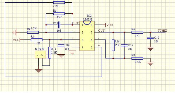 这是个lm358运放的电压串联负反馈两级放大电路,请问这个放大电路的