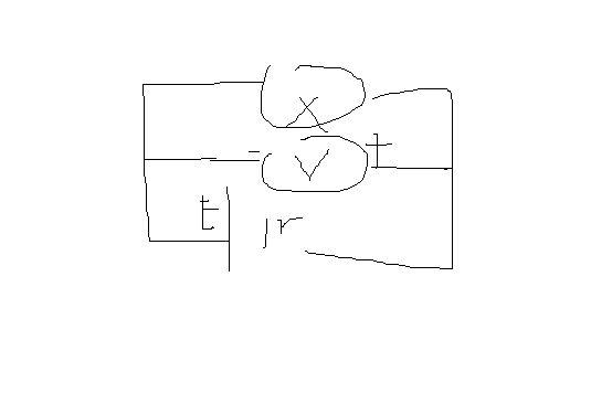 电压表并联在电源两端,测量的为什么是路端电压
