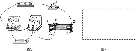 """(2014焦作一模)在""""探究电流与电压关系""""的实验中,小明同学连接的电路"""