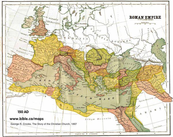 罗马的极盛期,疆域最大,人口最多,达5000万 地中海成了罗马内湖 罗马图片