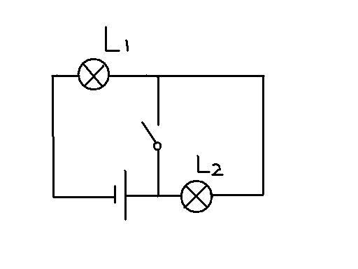 (物理)根据实物图画电路图图比较废