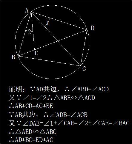 已知圆内接四边形abcd对角线ac,bd交于p,延长ab,dc交于q,设△pad垂心