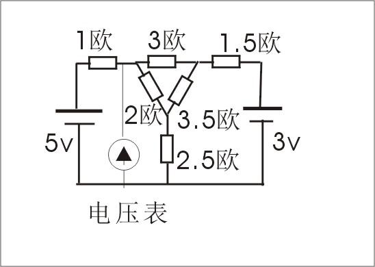 怎样看物理电压表在复杂电路里测什么 顺便用说明一下
