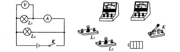 初三物理的电路图(电压表和电流表)怎样看它测哪个灯泡?