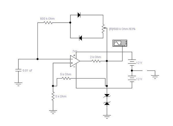 基于运放的占空比可调的方波发生器课程设计实验报告