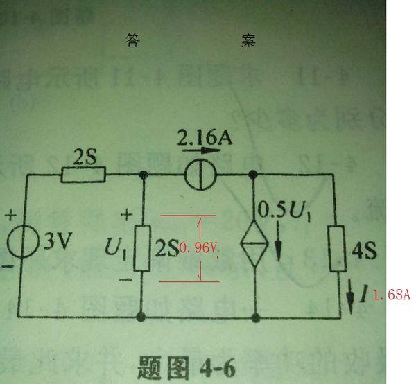 【电路基础】 用叠加定理求电路中的电流i,并计算出6Ω电阻消耗的功率