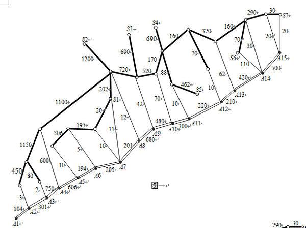 求出最短路径,要过程,用dijkstra算法.