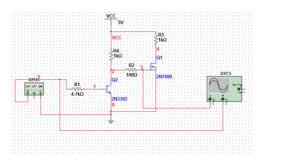 mos开关电路计算如这个图,比较常见简单的应用,我想问下 具体的元器件