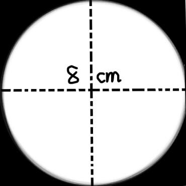 如上图,从一张边长为6cm的正方形纸上剪下一个最大的圆.