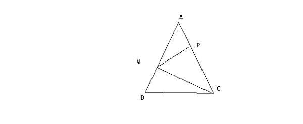 如图abc中ac ab bc_等腰三角形ABC中,P为底边BC上任意一点,过P作两腰的平行线分别与AB ...