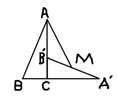 若ab 10 bc 8 ac 6_如图,将RT三角形ABC绕点C按顺时针方向旋转90度,得到三角形ABC ...